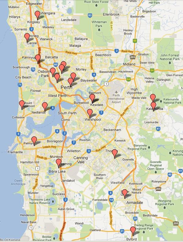 Online sex survey in Perth