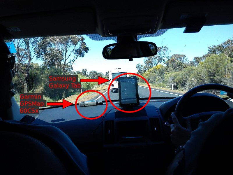 mobile tool and gps