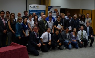 Prizegiving group 2011 to Gaia