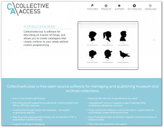 CollectiveAccess - Flexible Collection Management Software