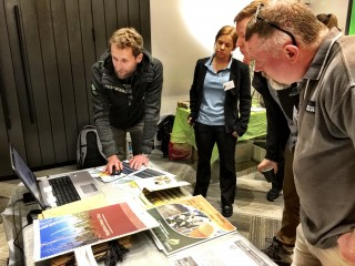 South Coast NRM's Tilo Massenbauer and Tracey held demonstrations of the DIDMS Database