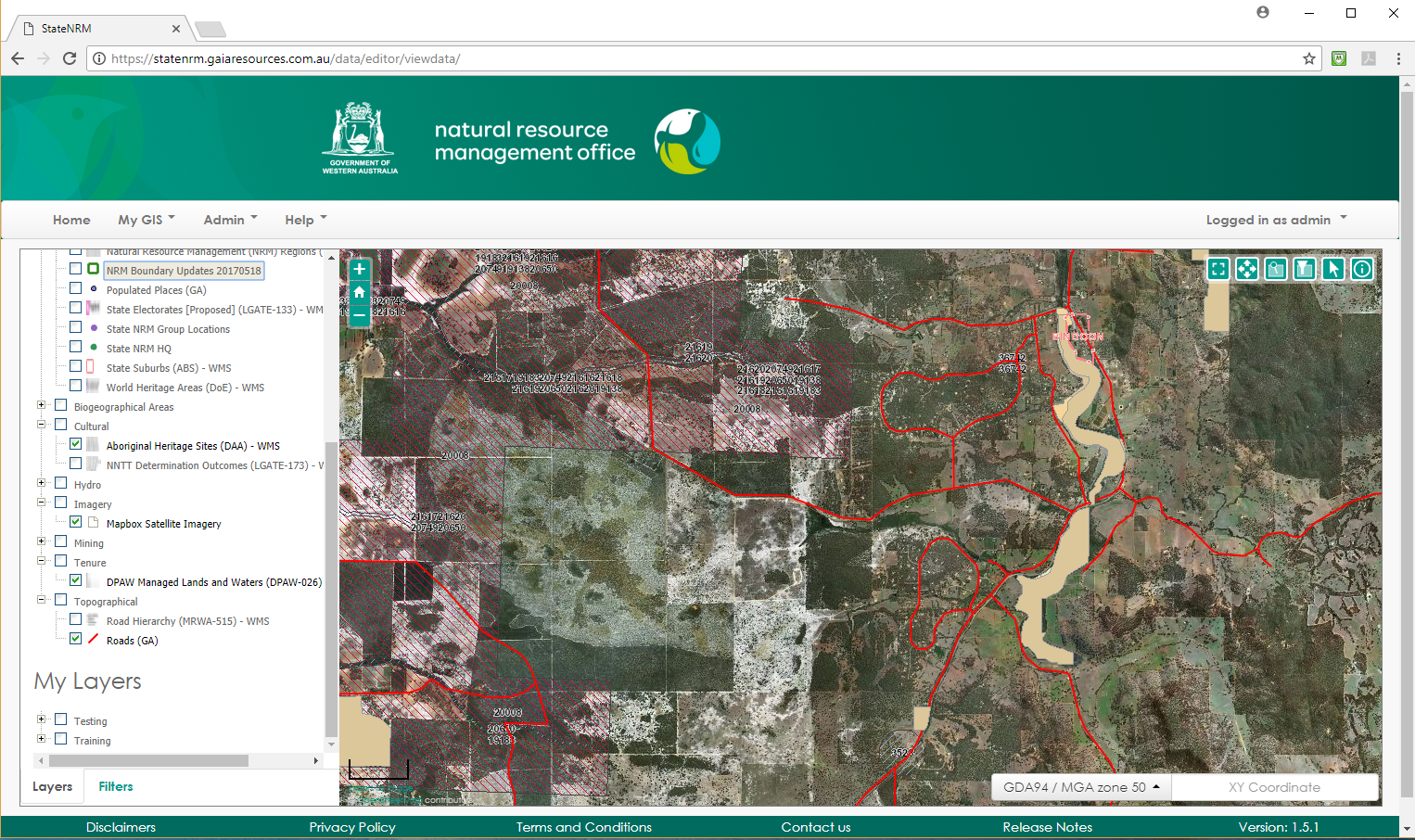 Map Grid Of Australia Zone 50.Grid Enhancements Statenrm Capability Grant Gaia Resources