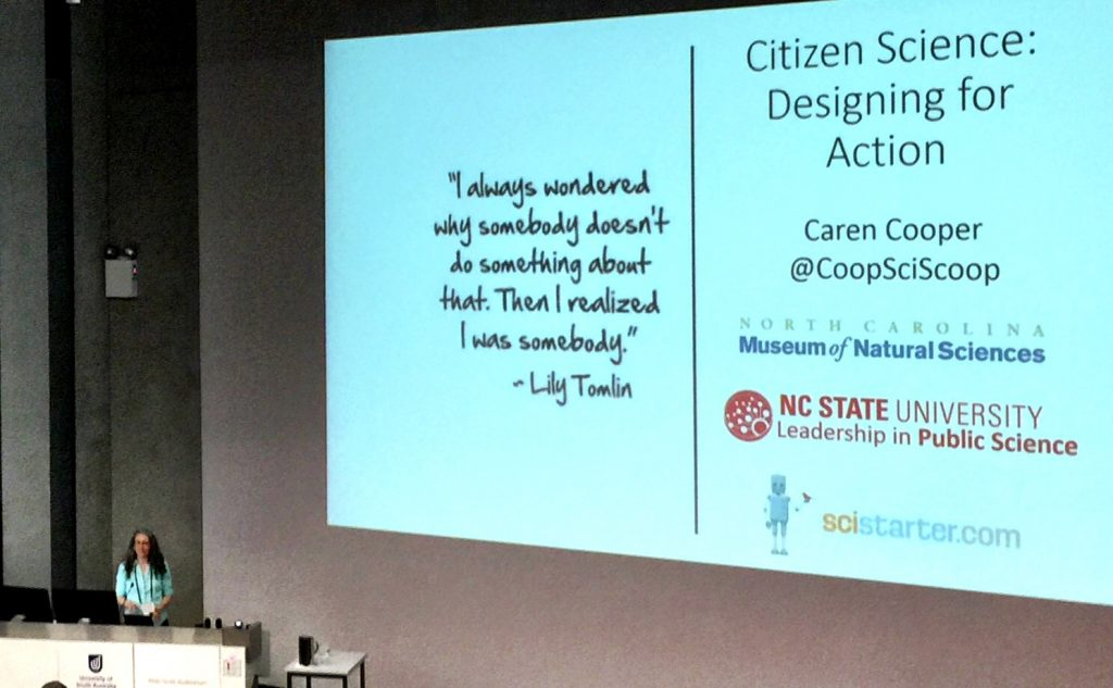 Dr Caren Cooper's Citizen Science: Designing for Action