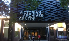 Facade of the Victorian Archives Centre