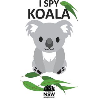 I Spy Koala splash screen