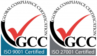 ISO9001 and ISO27001 certified