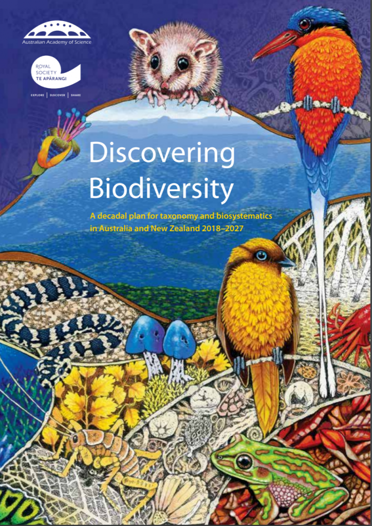 Discovering Biodiversity: A decadal plan for taxonomy and biosystematics in Australia and New Zealand 2018–2027